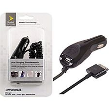 For Apple iPhone 4 4s Car Charger With USB Car Charger