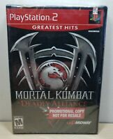 Mortal Kombat: Deadly Alliance - PlayStation 2, 2002 - Promotional Copy RARE NEW
