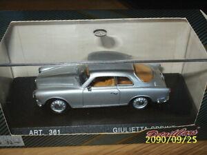 1:43 CDC Detail Car - ALFA-ROMEO  Giulietta Sprint 1954