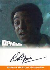 SPACE 1999 (SERIES 2) - RA1 ROBERT ATIKO (TECHNICIAN) AUTOGRAPH CARD