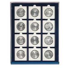 SAFE 6850 NOVA Element exquisite Holz-Münzbox für 12 Papp-Münzrahmen mit 50 mm