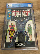 Iron Man #12 CGC 8.0 - White Pages!