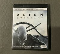 Alien Covenant. 4K Ultra HD With Blu-ray & Digital. Brand New.