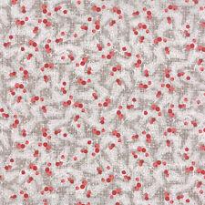 MODA Fabric ~ WINTERBERRY ~ by Kate & Birdie (13142 16) Stone - by 1/2 yard