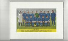 Chelsea Team - Mounted Colour Picture
