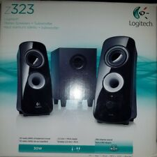 Logitech Z323 Stereo Speakers + Subwoofer 2.1 Surround Barely Used Functional