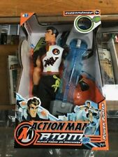 ACTION MAN ATOM Figurine Toy Power Surfer Pulsing Lights / SEALED / NEW