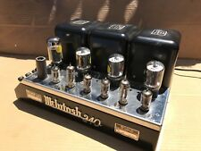 McIntosh MC-240 Stereo Power Amplifier - 1 owner