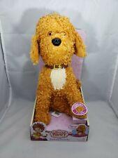 "New Disney Junior Fancy Nancy Barking Frenchy Plush Dog Stuffed Animal Toy 12"""