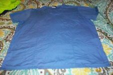 Misses Scrub Top Size Large Blue Cherokee Brand