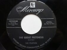 "THE PLATTERS The Great Pretender - VG Cond US Import Mercury 7"" (1955)"