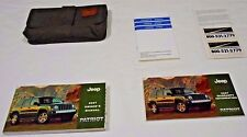 2007 JEEP PATRIOT OWNER MANUAL 5/PC.SET & OLIVE JEEP SPORTY DENIM CASE.FREE S/H