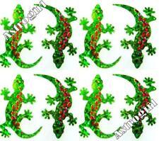 ~ Sparkle Lizard Gecko Green Nature Reptile Hambly Studio Glitter Stickers ~