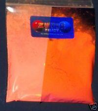 Ultraviolet UV Glow Fluorescent Pigment Powder - ORANGE