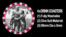 4  x  DRAGONS MAGPIES GLADIATORS 1963 G/FINAL, DRINK COASTERS -  Fully Washable