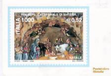 cartolina postale presepe matera 2000