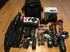 Canon EOS 5D Mark II 21.1 MP Digital SLR Camera,Flash,Grip,3Lens,WiFi EF 75-300
