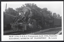 Railway Transport Postcard- Train - National Museum of Transport, St Louis MB236