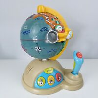 Kids Interactive Globe Toy Game Flight and Discover World Boots
