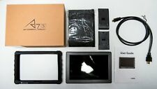 Lilliput A7S 7 inch Widescreen IPS LCD HDMI Monitor w/ black case - excellent!!