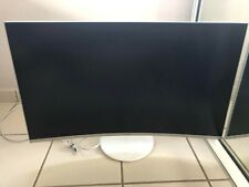 Samsung 32 inch curved QLED monitor. (BROKEN SCREEN)