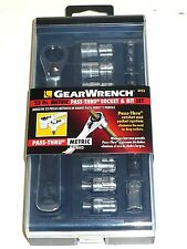 New Gearwrench 23 Pc.8923 Metric Pass-thru Socket,Slotted,Phillips,Torx,Hex bits