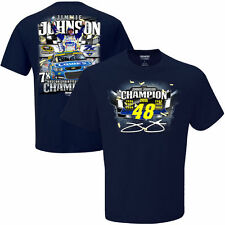 Jimmie Johnson 7 Time Nascar Champion T-Shirt From CFS - Men's Small Free Ship