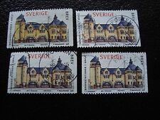 SUEDE - timbre yvert et tellier n° 2021 x4 obl (A29) stamp sweden (U)