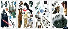 STAR WARS Wall Stickers Yoda R2D2 Darth Vader Room Decor Decals Classic Movie
