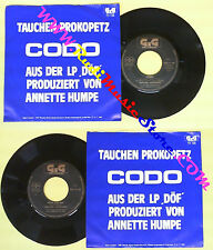 LP 45 7'' TAUCHEN PROKOPETZ Codo Rein gar nix 1983 austria GIG no cd mc dvd