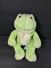 "Frog Green Russ Baby Plush Stuffed Animal 6""  Paddles"