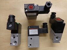 Solenoid Valve, 3 way 120vac 1/8 fnpt, Humphrey 31039RC1205060 new, lot of 2 ea.