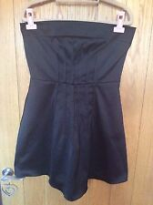 ASOS Black Bandeau Dress - Size 12