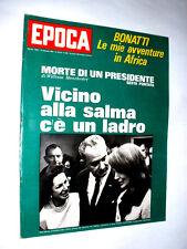 EPOCA anno 1967  Walter Bonatti avventure in Africa  Fotografa Suzanne Vincent