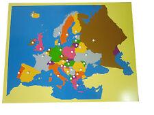 Montessori,  Großes Europapuzzle, 57 x 44 cm, MS78