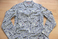 BODEN london street  map   shirt   size 10R  NEW  WA727