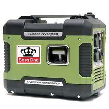 NEW 2KVA Max Silent Inverter Generator Camping Portable Sinewave Petrol AU