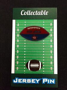 Buffalo Bills Jim Kelly football lapel pin-Classic Collectible-Kelly STRONG