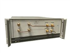 Hp 70001A Mainframe Phase Detector Test Set w/ Hp 70612B K18 70612C K09 Module