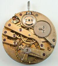 E. Jaccard Pocket Watch Movement - High - Grade - Spare Parts / Repair!