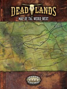 Savage Worlds - Deadlands RPG: Map of the Weird West S2P91120