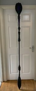 STARGATE SG-1 PROP SERPENT GUARD JAFFA STAFF 85 INCHES PAINTED