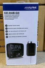 Alpine EZi DAB GO Digital Radio (DAB/DAB+) Universal Interface +DAB Antenna Pure