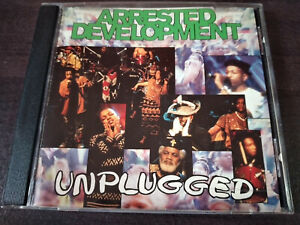 ARRESTED DEVELOPMENT - Unplugged (Live) CD RNB / Swing / Made In USA