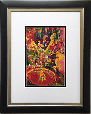 "LeRoy Neiman ""Roulette 1972"" Newly CUSTOM FRAMED Print - Las Vegas Atlantic City"