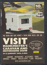 Advertising Postcard - Manchester's Caravan and Motorhome Show 2006 -  T6884