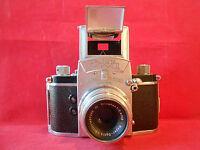 EXA System Rheinmetall Lens Trioplan 2,9/50 V Mayer Spiegelreflexkamera Kamera