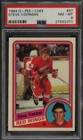 1984 O-Pee-Chee #67 Steve Yzerman - Red Wings - PSA 8 - NM-MT - 27552371 - (SCA)
