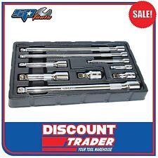 SP Tools 9 Piece Wobble Bar Extension Set - SP20988