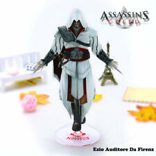 Assassin's Creed Ezio Auditore Double-Sided 2D Plastic Toy Gift 21cm